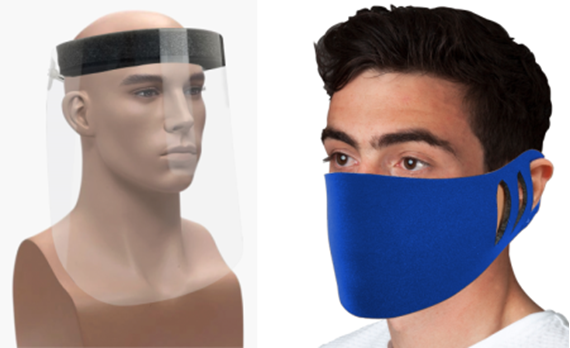 Picture for category Face Masks and Shield